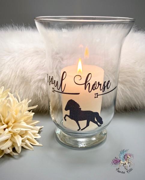 Terrassenlicht # Windlicht # Soul Horse