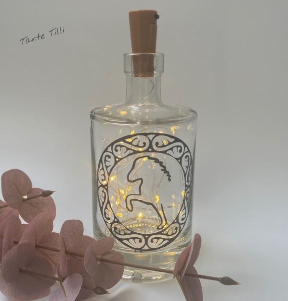 Flaschenlicht groß 750 ml Flowertölter 2