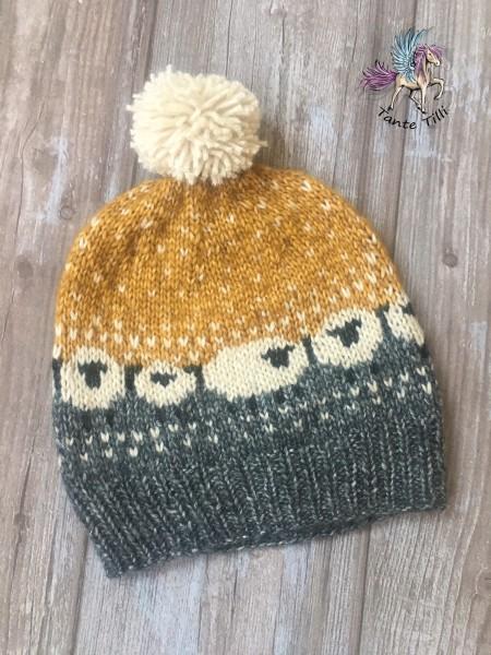 Mütze # Schafe # Fleeceband