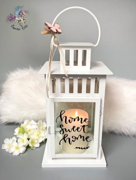 Laterne - weiß - Home
