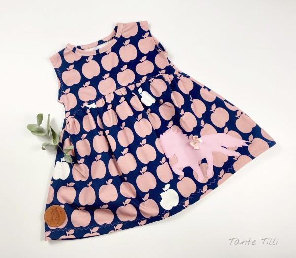 Süße Kleid Gr. 74 bzw. Tunika mit Äpfeln