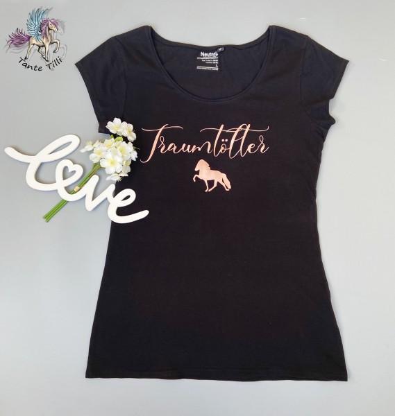 T Shirt # Gr. L # schwarz # Traumtölter