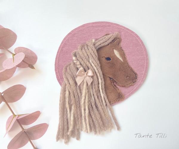 Patch für Selbermacher Pferd - braun
