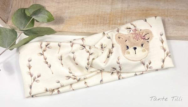 Stirnband - Boho Bär - KU bis 46 cm