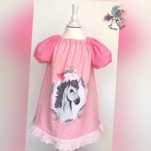 Tunika - Kleid Gr. 104 in rosa