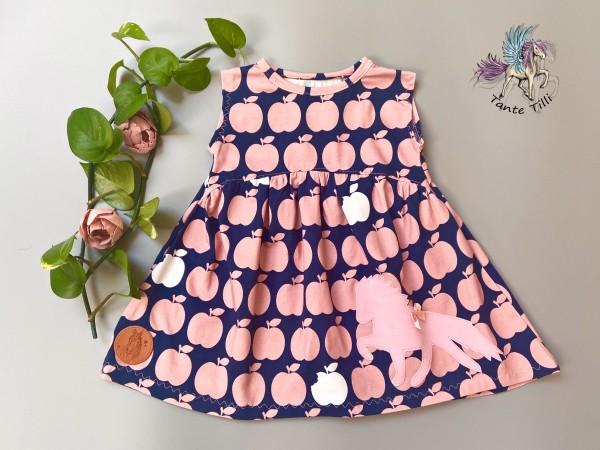 Kleid #Äpfel # 74/80