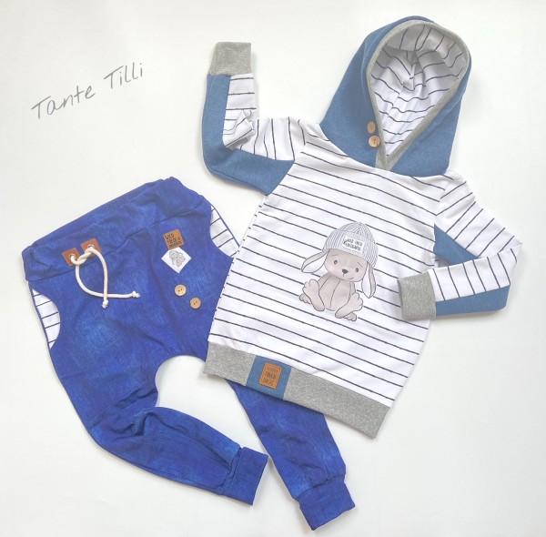 Set Gr. 116 mit Pullover und Hose - coole Socke