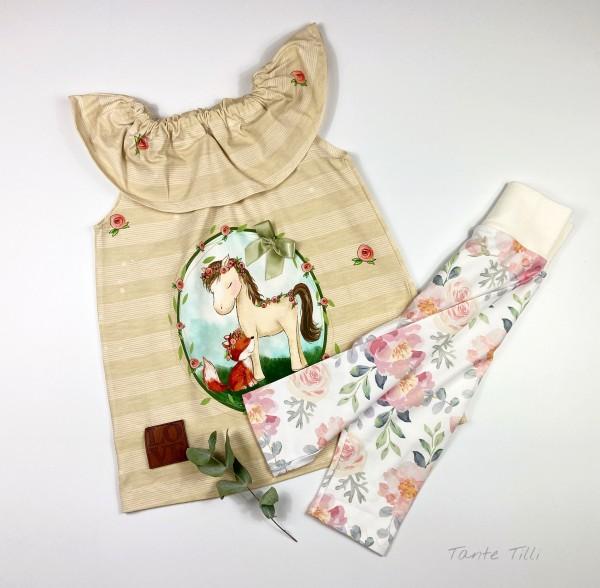Set Gr.104 bestehend aus Tunika - Kleid und Leggings
