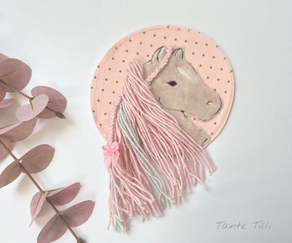 Patch für Selbermacher Pferd - rosa
